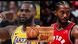 NBA Season Preview: LeBron James or Kawhi Leonard for MVP? | BALL ON BLAST PODCAST
