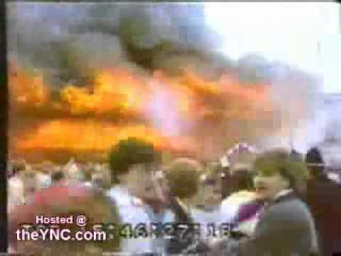 пожар стадион