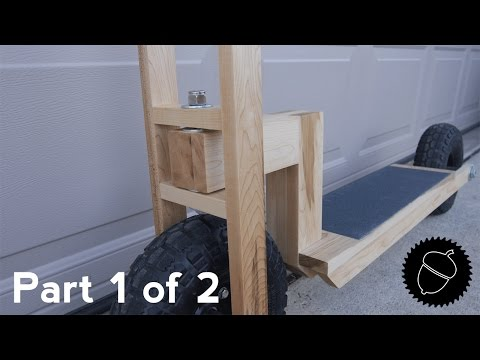 How to Build a Wood Scooter | Part 1 of 2