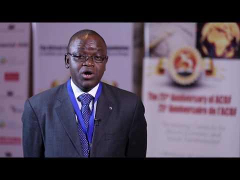 Bakary Kone of ACBF at the 3rd Pan-African Capacity Development Forum