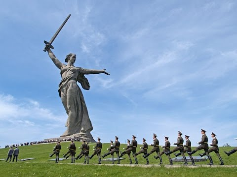 Mamayev Kurgan The Motherland Calls Volgograd Russia ... мамаев курган волгоград