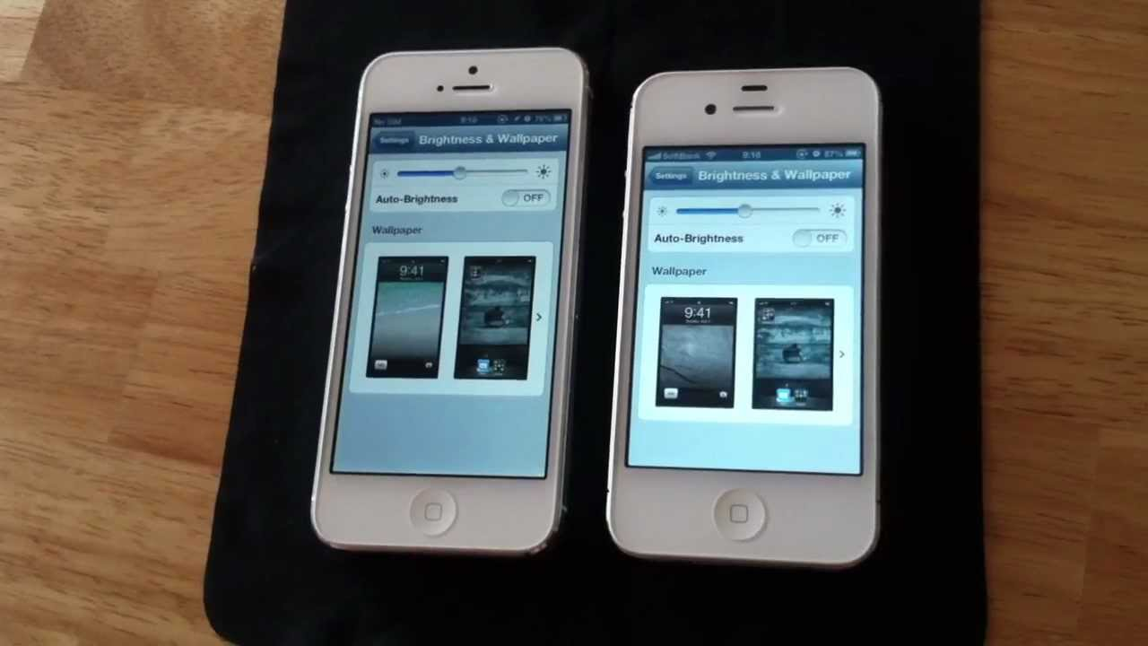 IPhone 5 Ambient Light Sensor Problem (iOS 6 Problem Not IPhone5 Hardware)  Ambilight Ambit Light   YouTube