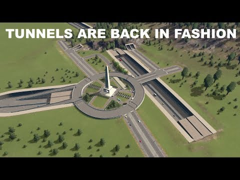 PERFECT TUNNEL NETWORK | Cities Skylines | EP 6