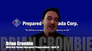Alex Vezina Emergency Preparedness | April 19