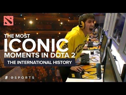видео: Самые яркие моменты истории the international