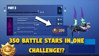 GETTING TIER 100 IN ONE CHALLENGE! Fortnite Battle Royale