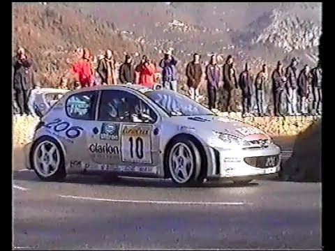 Francois Delecour 306 maxi rallye du Limousin 1996 | FunnyDog.TV