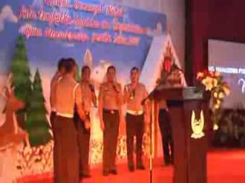 Lagu Natal by Police Acapella PTIK