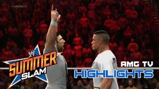 WWE 2K14 - SummerSlam 2013 Highlights