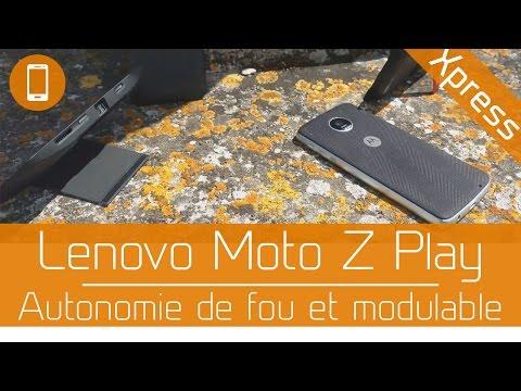Test'Xpress : Lenovo Moto Z Play : Autonomie à votre service !