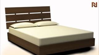 Nexera Nocce Twin Size Bed & Headboard 401239