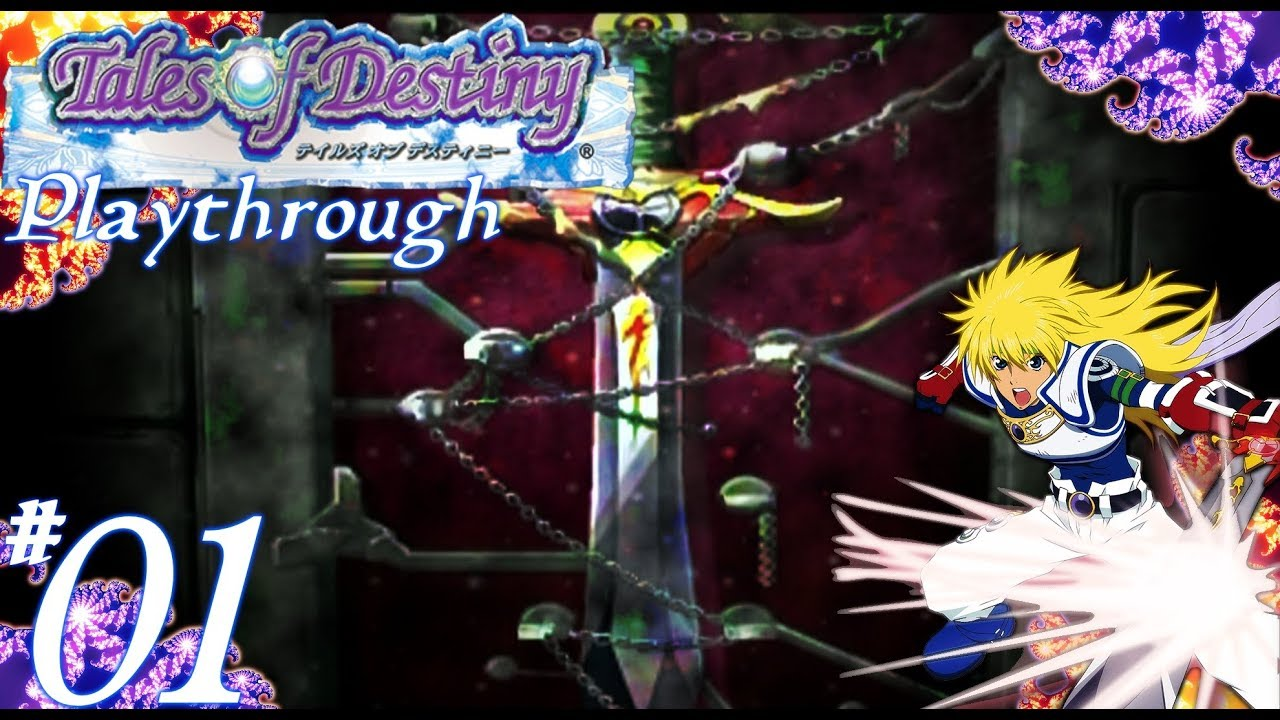 Tales Of Destiny DC: Stahn's side: The Talking Sword #01