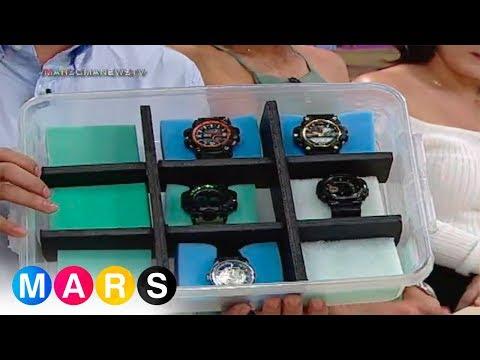 Handy Mars: DIY wrist watch organizer by Archie Alemania