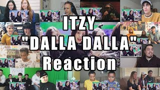 "ITZY ""달라달라(DALLA DALLA)"" M/V ""Reaction Mashup #2"""