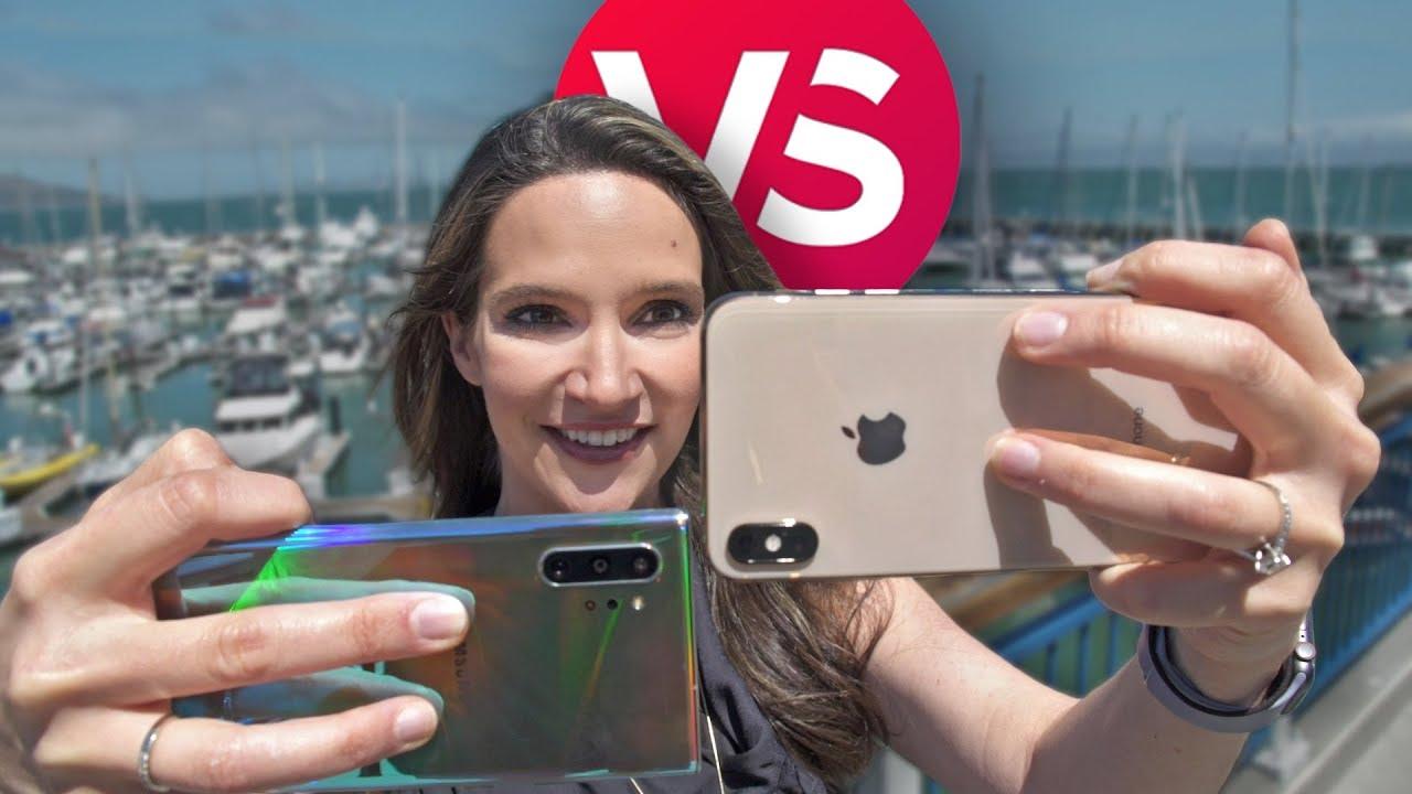 iPhone XS Max vs  Note 10 Plus camera comparison