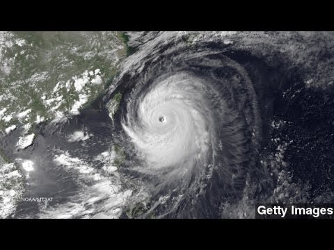 Weakened Typhoon Neoguri Heads For Japanese Mainland