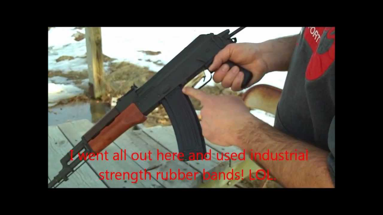 shoe string machine gun