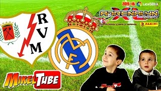 Predicción Adrenalyn XL Rayo Vallecano VS. Real Madrid