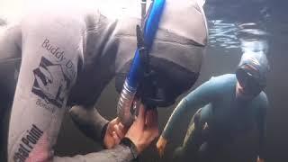 Um mergulho inédito na Chapada dos Veadeiros
