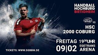 Handball // 2. Handball Bundesliga: SG BBM Bietigheim vs. HSC Coburg