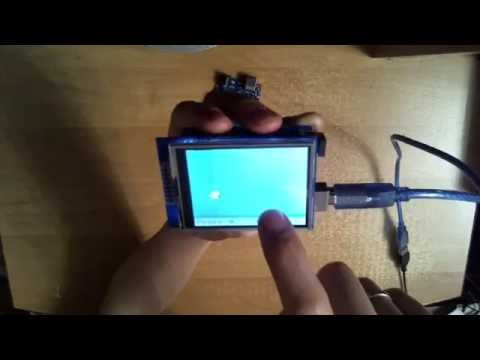 Тест дисплея (ИГРА) Arduino LCD TFT touch screen (сенсорный экран)