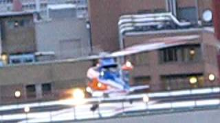 Ornge Air Ambulance Leaves Sick Kids Helipad 22 April 2009