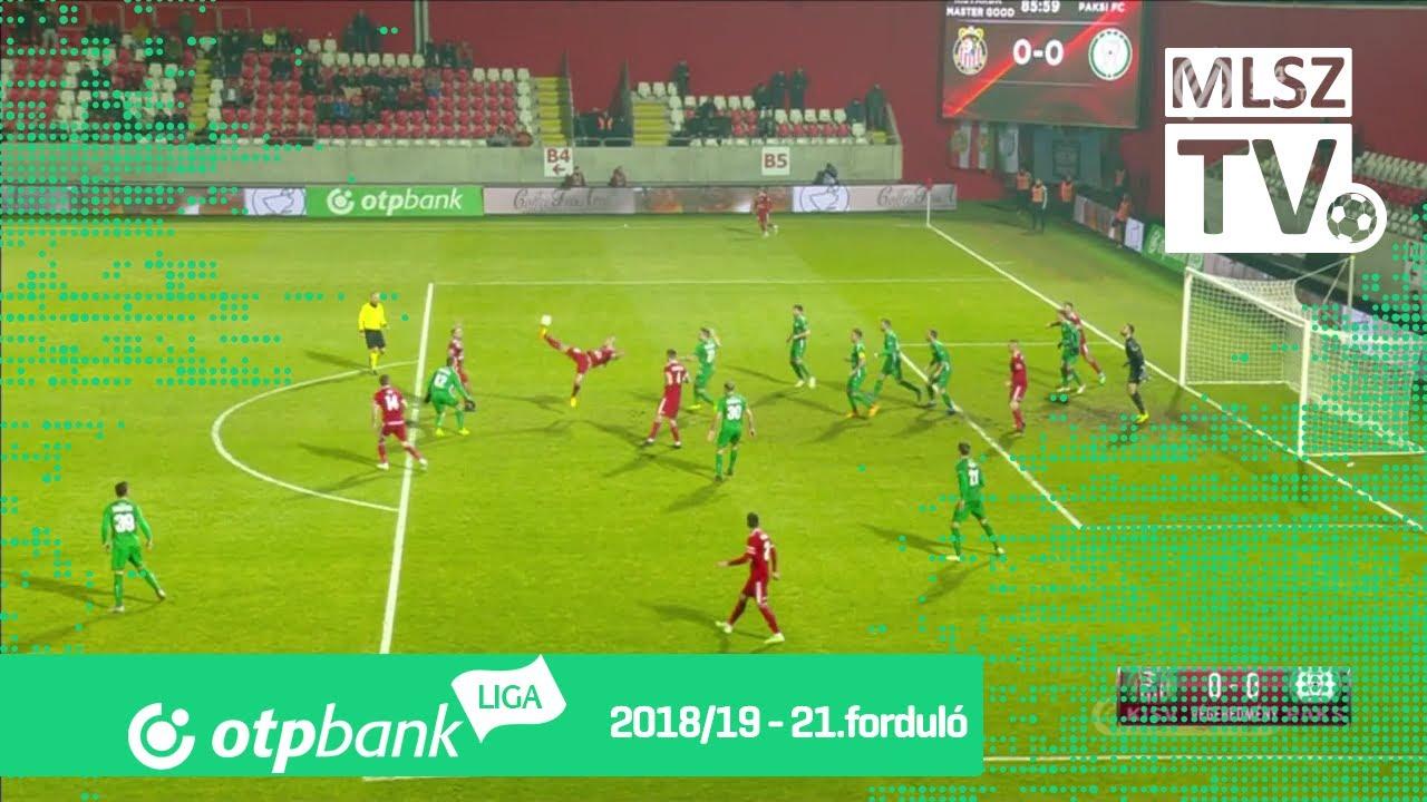 KIsvárda Master Good – Paksi FC | 0-0 | (0-0) | OTP Bank Liga | 21. forduló | MLSZTV