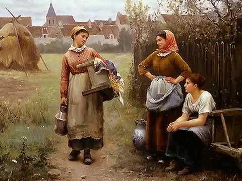Daniel Ridgway Knight il pittore delle contadine