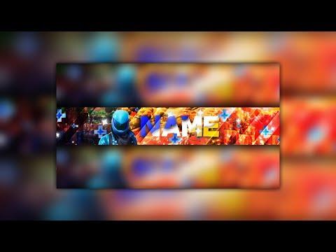 """""""Fortnite"""" YouTube Banner Speed Art (made On Mobile)"""