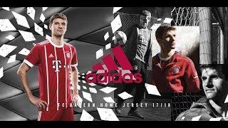 The adidas football 2017/2018 Bayern Munich Home Jersey