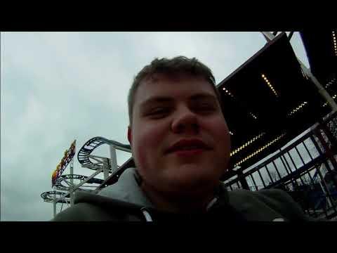 Rollercoaster rebellion :Funderworld Bristol 2018 vlog. Injured on the ghost train!