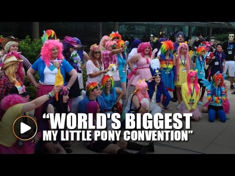 My Little Pony Convention List 2020.World S Biggest My Little Pony Convention Kicks Off In Baltimore
