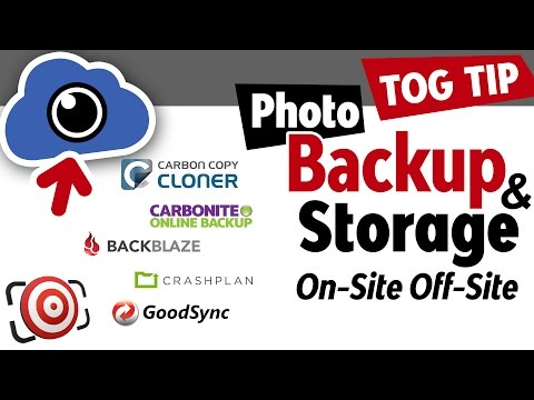 Photo Backup. How to create an automated system with cloud storage to protect your photographs