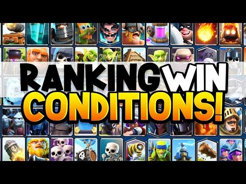 PRO RANKS CLASH ROYALE'S TOP 10 WIN CONDITIONS!