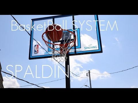 SPALDING Portable Basket Ball System - Simple Way For Fun And Exercise! - Review / Demo