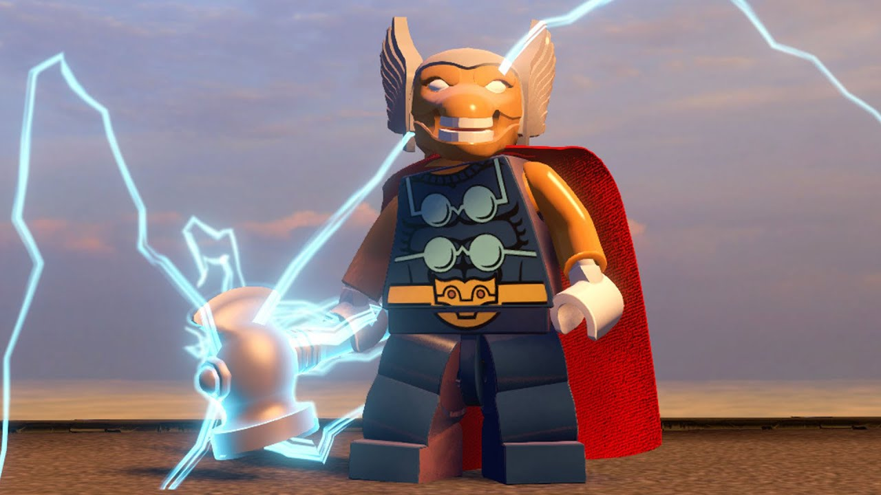 lego beta ray bill - photo #4