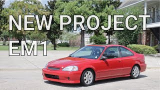 Project EM1: Washing The Dirt Off!