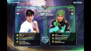 Ngadu TANKER Duo Begal VS Duo GOJEK - MOBILE LEGENDS INDONESIA