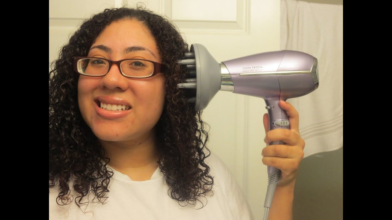 Updated After Wash Curly Hair Routine With John Freida