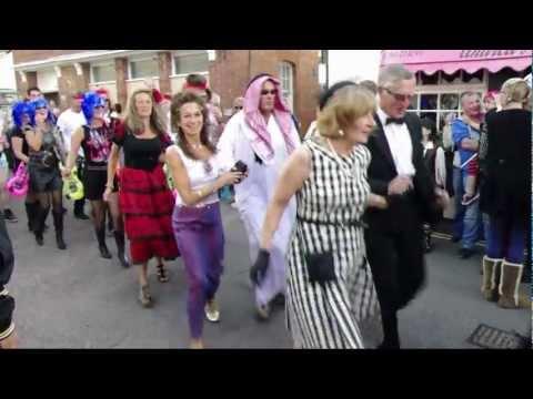 Lympstone Furry Dance 2012