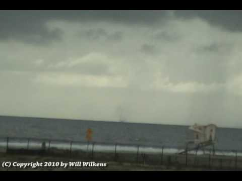 Waterspout - Huntington Beach/Newport Beach, CA - February 27, 2010