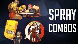 The Best Spray Combos [Overwatch]