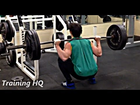 Deep Squat - 350 lbs x 10 No Belt (2x Bodweight @ 20 yr old)
