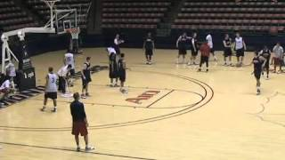 2-on-2 Post Up Drill