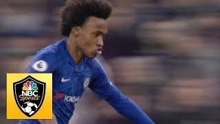 Gambar cover Willian lashes Chelsea ahead v. Tottenham | Premier League | NBC Sports