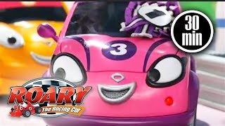 Roary the Racing Car Official 💜 Cici Wins the Day 💜 CICI COMPILATION 💜 Cartoons for kids