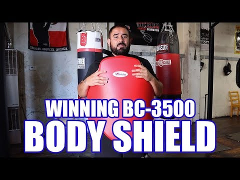 WINNING BODY PROTECTOR SHIELD REVIEW