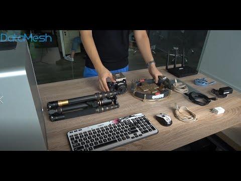 DataMesh MeshExpert Live! Hardware Assembly Guide