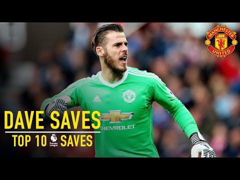 David De Gea: Top 10 Premier League Saves