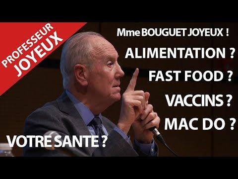 LE PROFESSEUR JOYEUX .ALIMENTATION ? BIO ? NUTRITION MAC DO ? NUTELLA ? MMe BOUGUET JOYEUX !